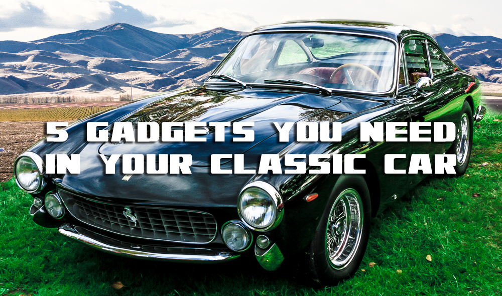 5 must have accessories for your classic car classy vice for Antique car decor