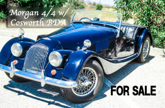 1966 Morgan For Sale With Cosworth BDA Formula Atlantic Racing Engine