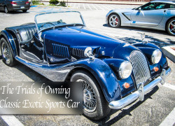 The Trials of Owning a Classic Exotic Sports Car