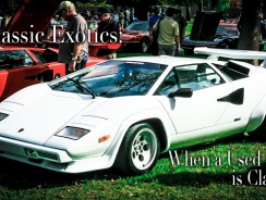 Classic Exotic Cars – When a Used Car can be Classy