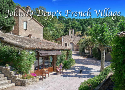 Johnny Depp to Sell French Hamlet for $26 Million