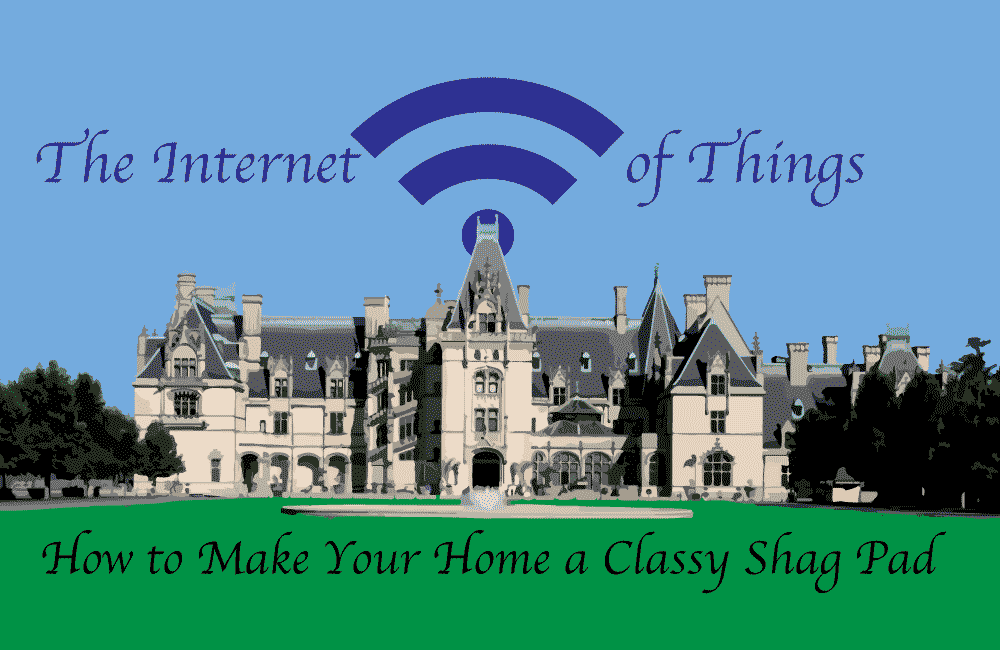 The Internet of Things: How to Make Your Home a Classy Shag Pad